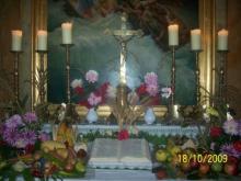 hálaadási oltár