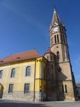 Ágfalvi templom - felújítás